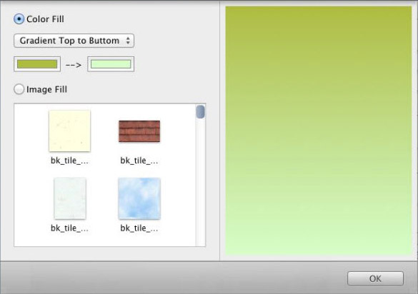 How To Set The Page Size And Background Using Collageit For Mac